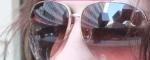 Reflejo de Madrid sobre unas gafas de sol